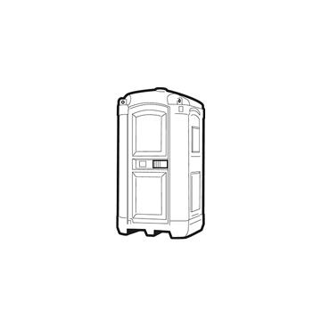 Mobile Toilettenkabinen